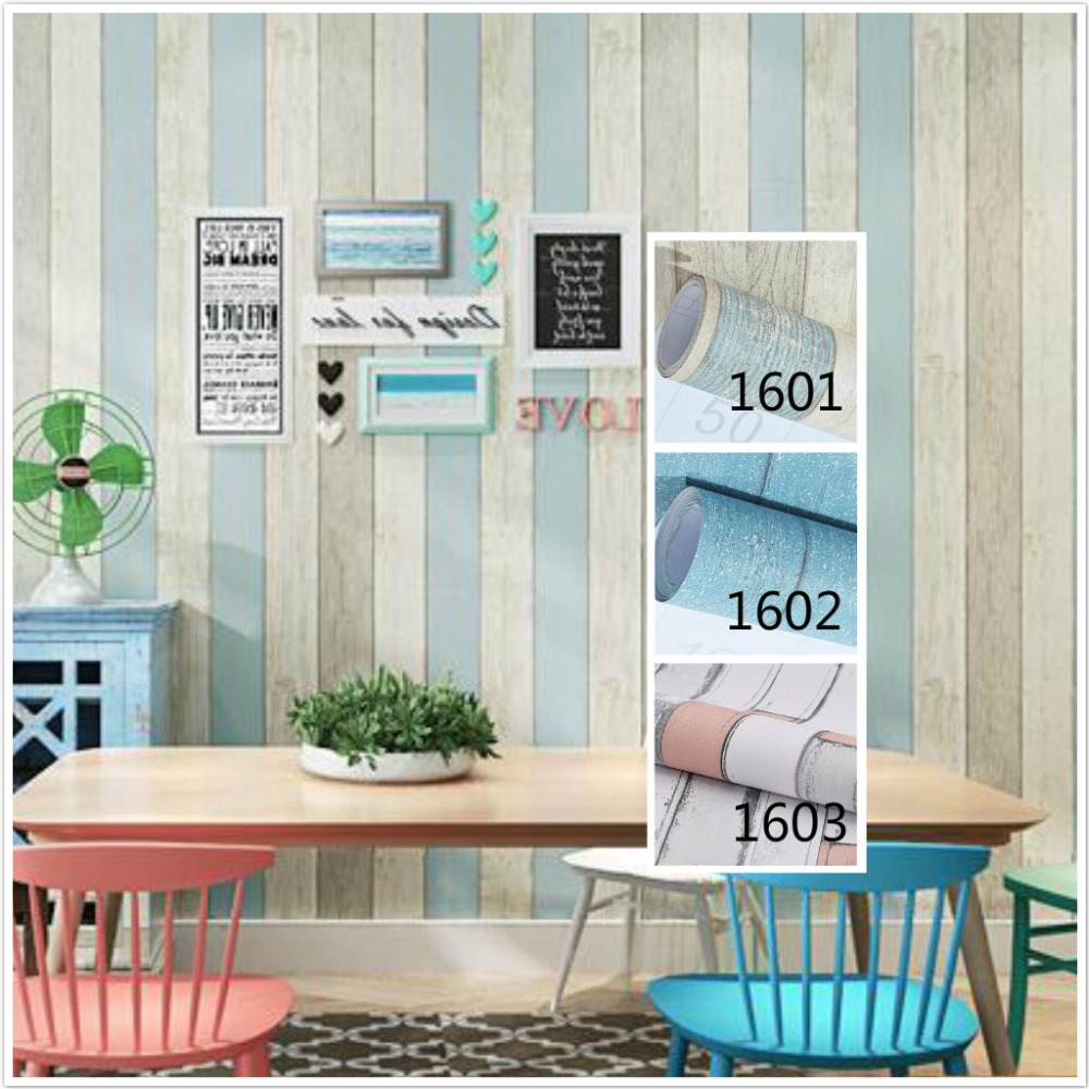 Pvc waterproof wallpaper wardrobe wardrobe Study room wall cabinets