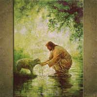Картина на холсте с принтом «Jesus Christ Jesus» 97