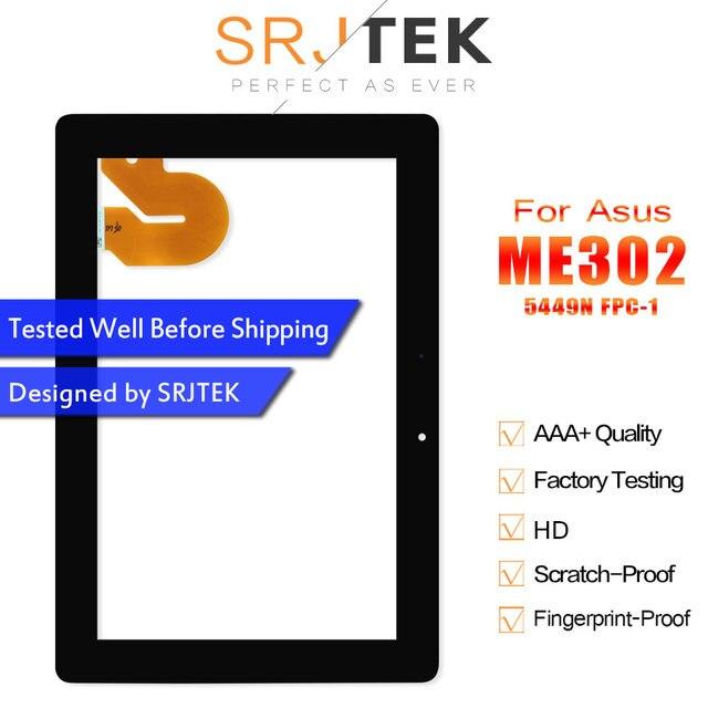Первоначально для ASUS Memo Pad FHD 10 ME301 ME302 ME302C me302kl K005 k00a Планшеты PC Сенсорный экран планшета Стекло 5449n FPC-1 запчасти