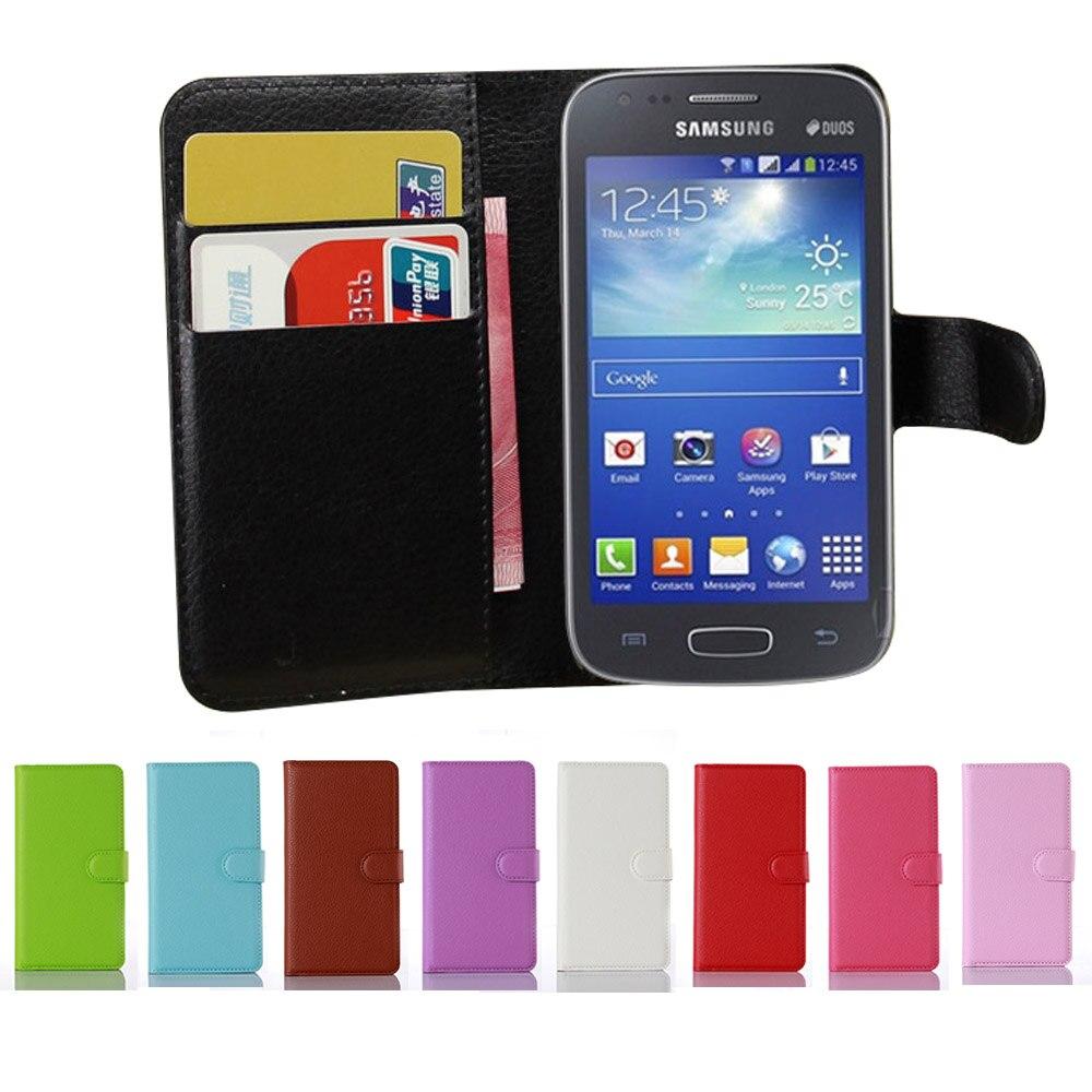 cf0ab43baaf35 ᐂAce 3 Fashion New Litchi PU Leather Flip Case For Samsung Galaxy ...