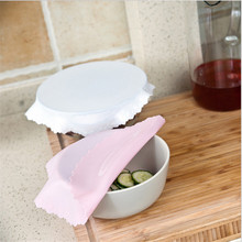 New Reusable Multifunctional Food Fresh Keeping Saran Wrap Kitchen Tools Silicone Wraps Bowl Cover for Refrigerator Preservation