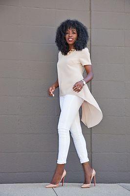 Plus Size women summer shirt Fashion Womens Loose Chiffon Tops Short Sleeve shirts Casual Blouse 3