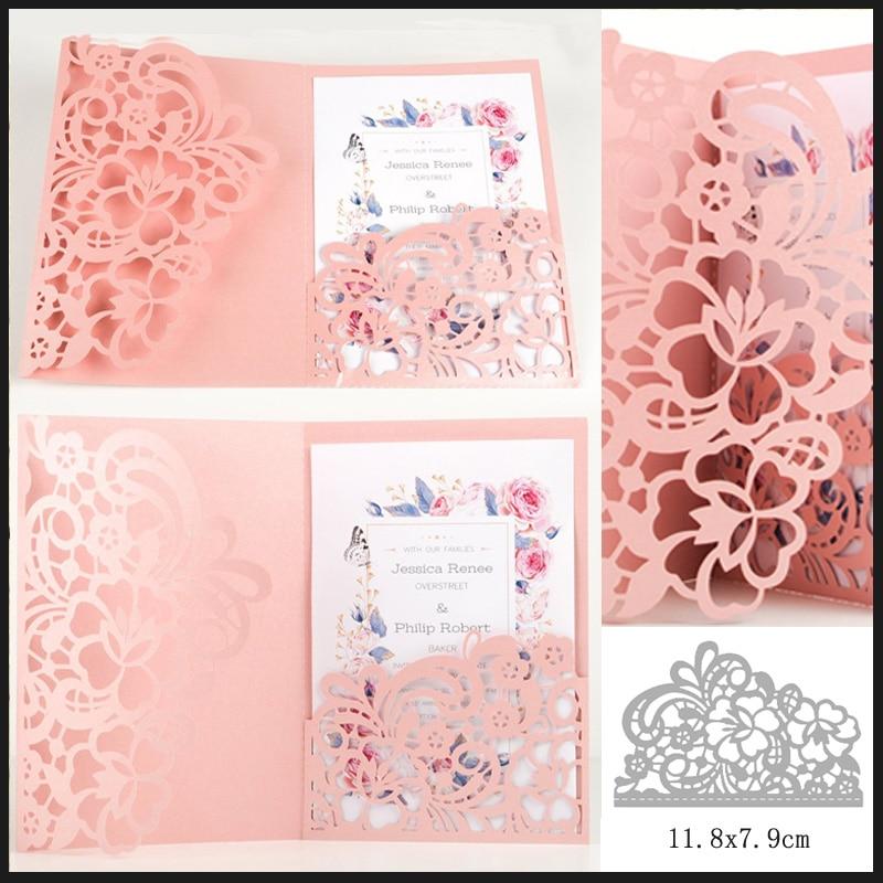 Flowers Lace Metal Cutting Dies Stencils For Scrapbooking DIY Album Cards Decorw