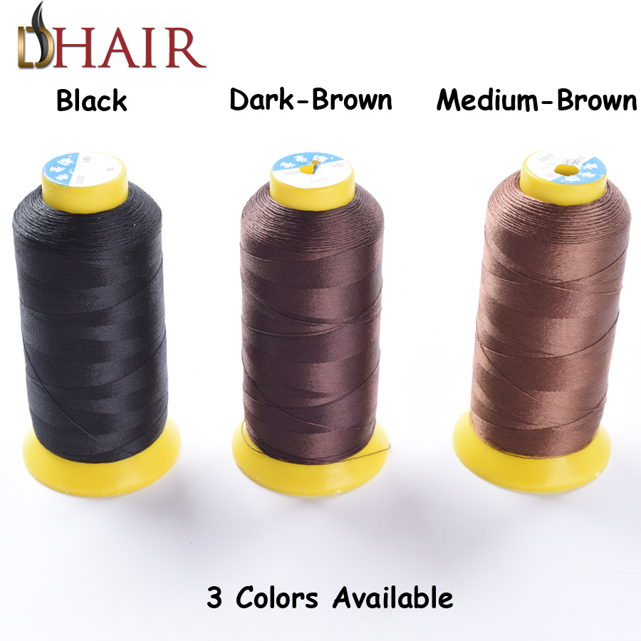 Quality Hair Extension Tool Kit Professional Wig Making Tools Brand Products Hair Weaving Needle With Weaving Thread For Hair