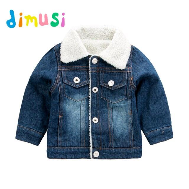 Dimusi zimowa kurtka dżinsowa chłopcy dżinsy kurtki Retro dodatkowo pogrubiony aksamitna kurtka dżinsowa dzieci taktyczne ciepłe wiatrówki płaszcze dżinsowe