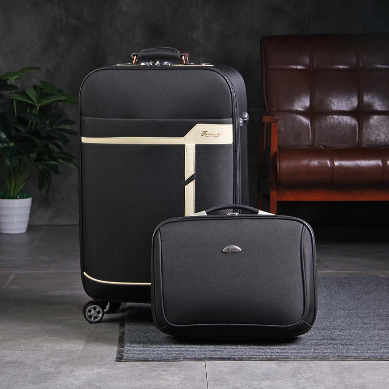 BeaSumore Men Business Rolling Luggage Sets Spinner 28 inch Suitcase Wheel Cabin Trolley Case Women password