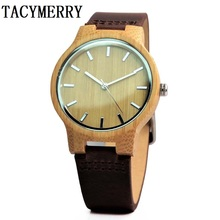 Newest Bamboo Watch For Men With Japan MIYOTA Movement Christmas Gifts