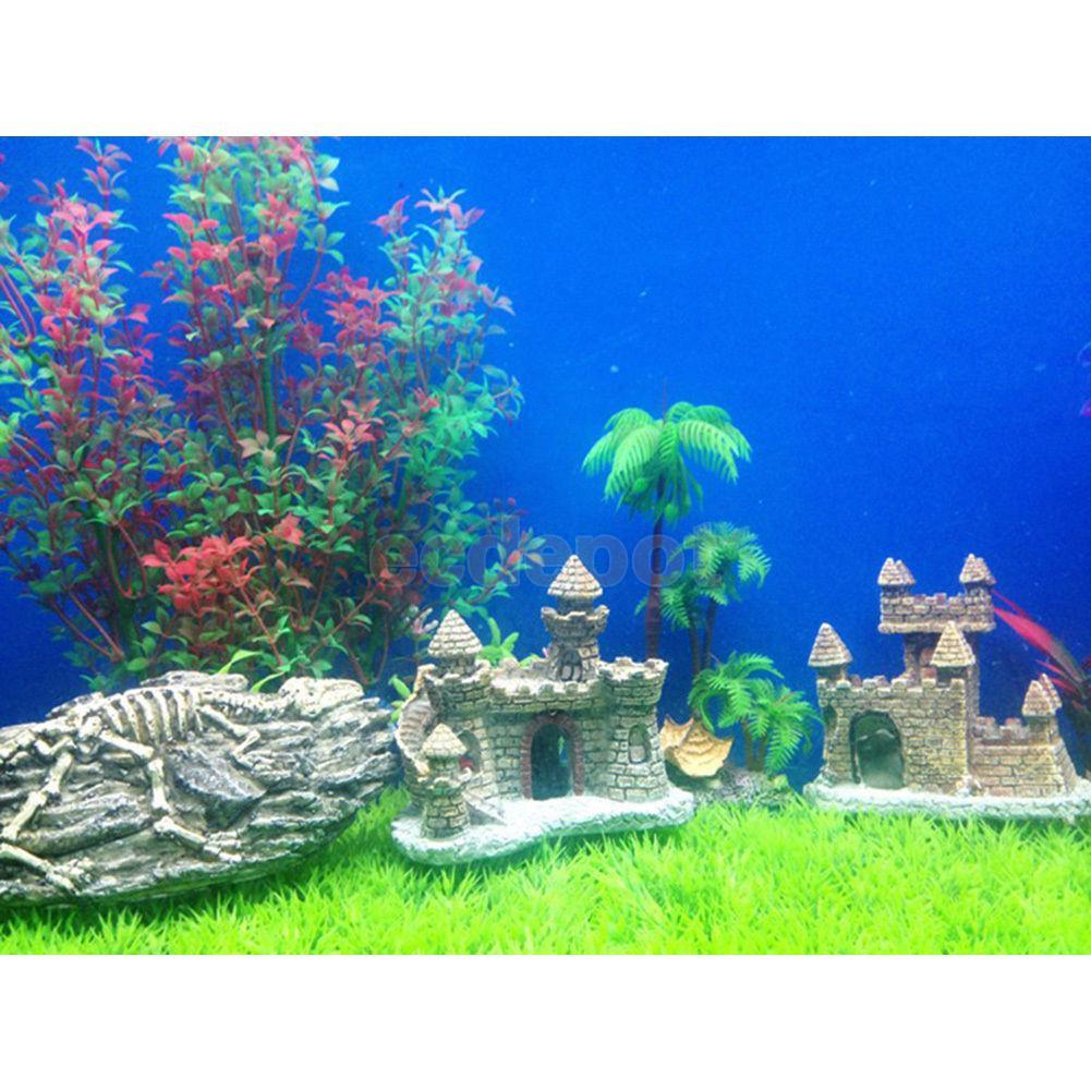 Freshwater aquarium fish compatibility guide - Aquarium Fish Tank Antique Castle Tower Ornament Cave Landscaping Decoration