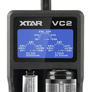 Image 2 - XTAR VC2 sạc cho 10440/16340/14500/14650/17670/18350/18490/18500/ 18650/18700/26650/22650/20700/21700 pin Sạc