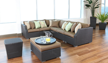 2017 Hot Sale Indoor Wicker Conversation Sofa Set Furniture
