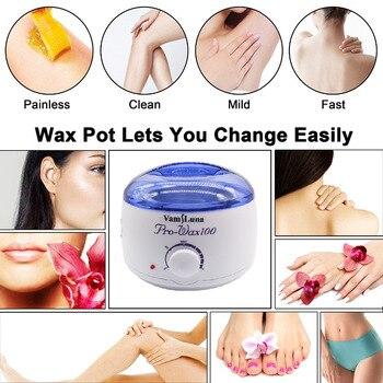 VamsLuna Depilatory Warmer Wax Heater Pot Health Care Paraffin Heater For Salon Spa Beauty Equipment for Hard Strip Waxing