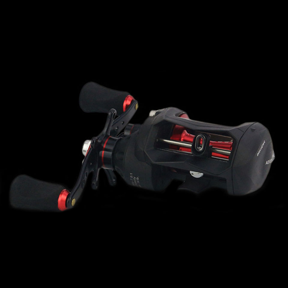 WALK FISH High Quality Right or Left Baitcasting Reel 12+1BB 7.0:1 Bait Casting Fishing Reel Magnetic and Centrifugal Dual Brake