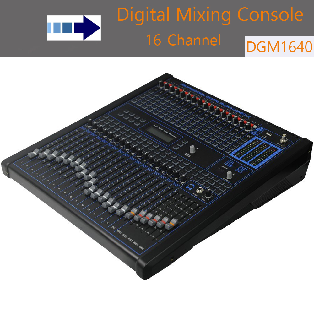 16 Kanal Mixer Digitale Profissional Digital Mixer Rack-mount Audio Consola De Audio Digital Dj Ausrüstung Mischer In Verstärker Angenehm Zu Schmecken