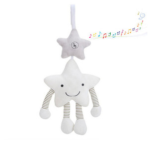 Image 4 - New Baby Toys For Stroller Music Star Crib Hanging Newborn Mobile Rattles On The Bed Babies Educational Plush Toys