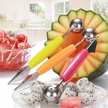 Double End Stainless Steel Fruit Knife