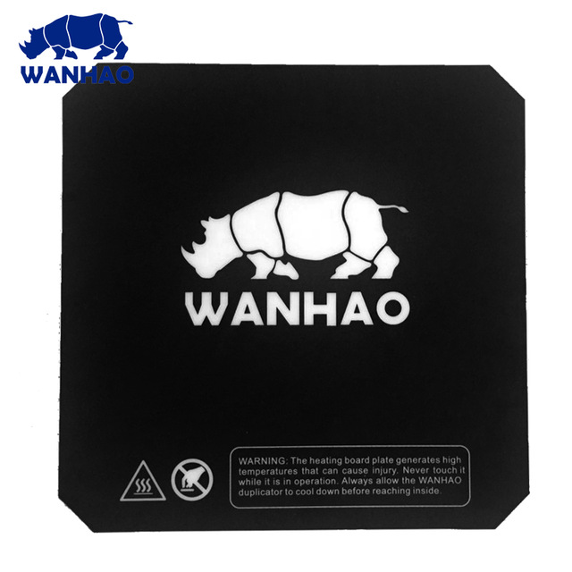 Original WANHAO   Magnetic Plateform  Building Plate Mat  Mag Mat/Top Pc For D6 And I3 PLUS MK2