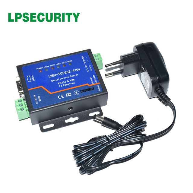 USR-TCP232-410s ModBus RTU Converters support DNS DHCP RS232 RS485 SERIAL TO ETHERNET TCP/IP MODULE