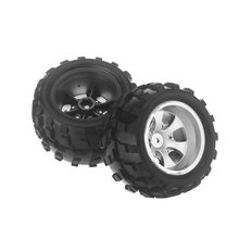 Wltoys A979 1/18 RC Auto Banden Rubber Wiel A979 02 Deel voor Wltoys Rock Crawler RC Auto Onderdelen Model truck RC Banden 1/18(China)
