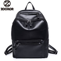 Women Backpack High Quality PU Leather Mochila Escolar School Bags For Teenagers Girls Vintage Top-handle Backpacks