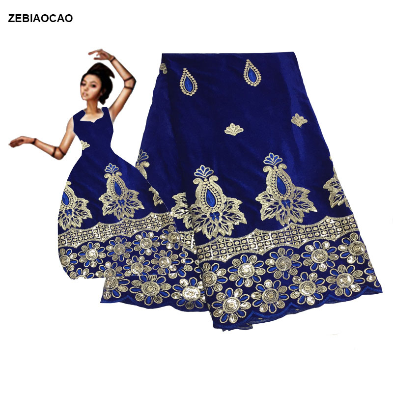 ZEBIAOCAO 2019 High Quality African Lace Fabric Velvet French Net Embroidery with Sequins Lace Fabric For Nigerian flannel lace
