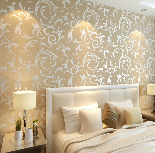 70 * 840 Luxury Non Woven Jane's 3 D Wallpaper Mouldproof