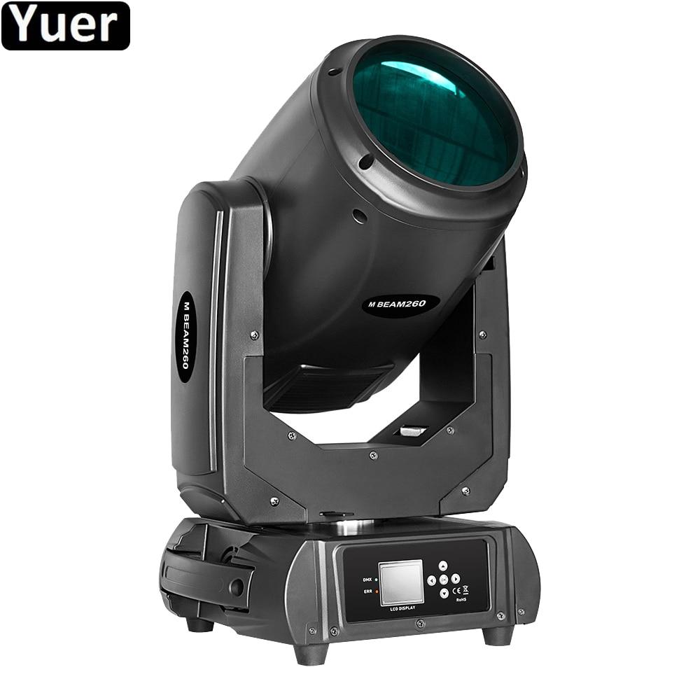Lumière principale mobile de la tache 2IN1 de faisceau de la lumière 260W de Disco de DJ avec l'effet de stroboscope DMX512