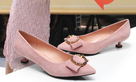 Peu Grande De Printemps Boucle Chaussures 40 43 Femmes Nouveau Talon EHY2IWD9