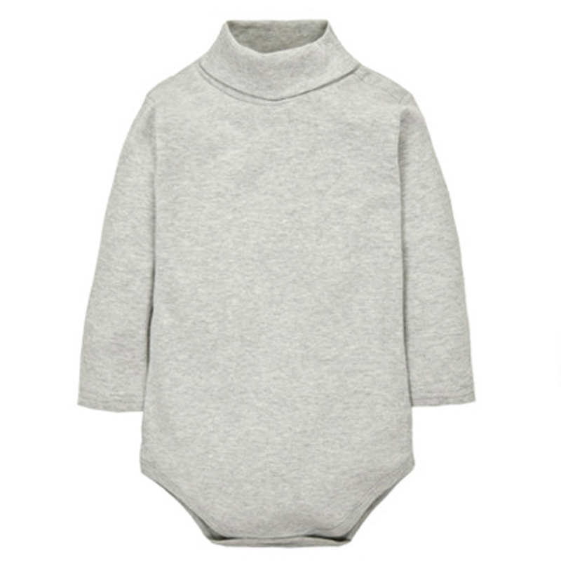Solid Cotton Knitted Baby Bodysuit Long Sleeve Autumn Fashion 2016 New Baby  Boy Bodysuits Winter Irregular Beige Girl Bodysuits aaa2bc179