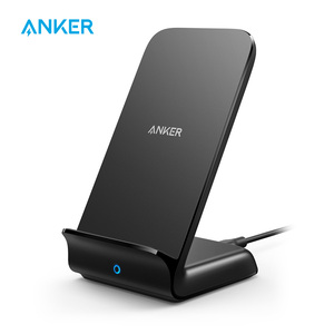 Anker PowerWave Fast Wireless Charger Stand, Qi-Certified,7.5W for iPhone 11/11 Pro/11 Pro Max/XR/XS etc,10W for Galaxy and more