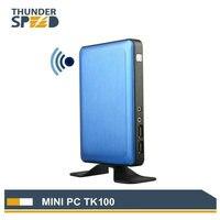 2016 New Arrival Fanless MINI PC Thin Client Windows OS Intel J1900 Quad Core 2 0Ghz