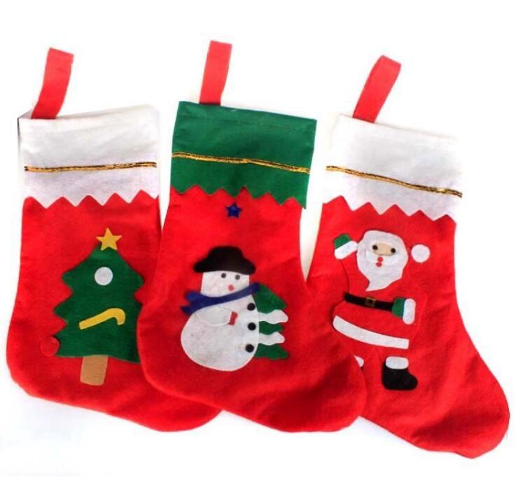 Weihnachten strümpfe Große gold aufkleber weihnachtssocke Santa ...