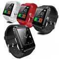Bluetooth smart watch u8 relógio de pulso passometer tracke para iphone samsung htc ios android smartphone telefone smartwatch