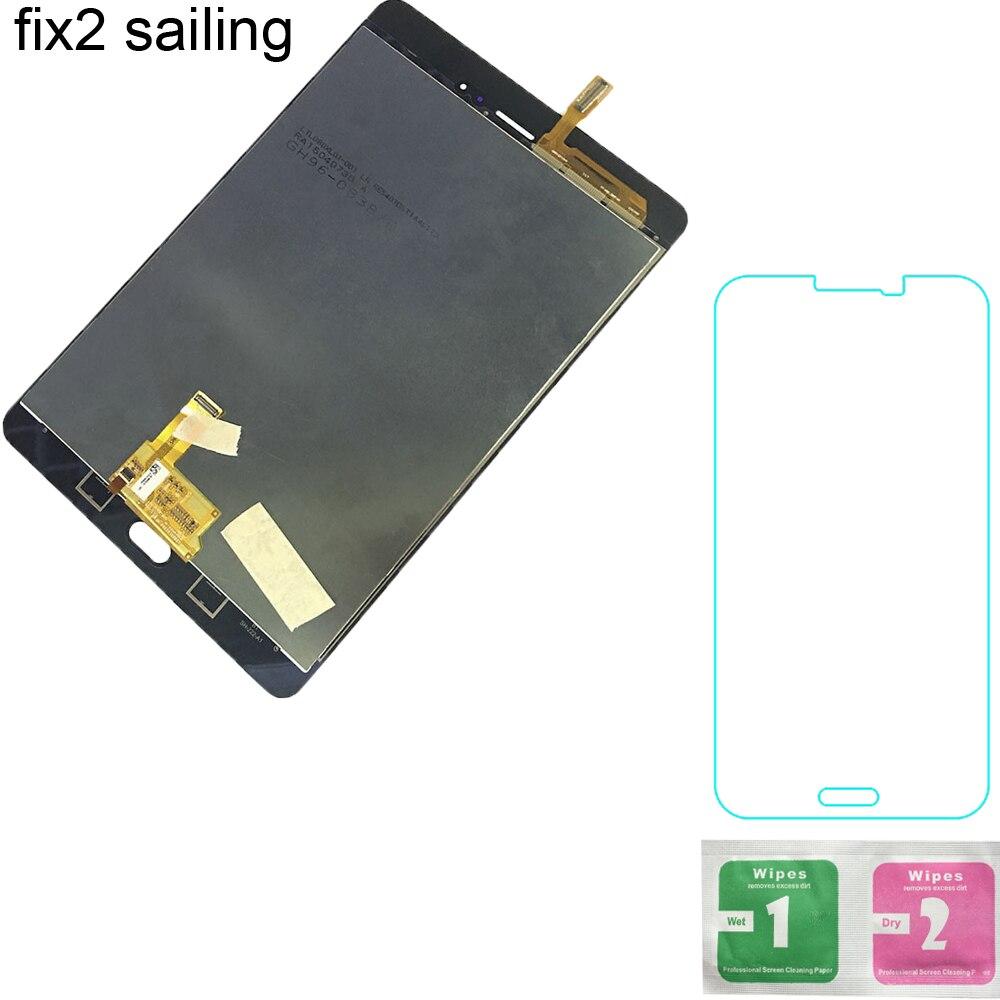 100% Montage D'essai De Panneau De Réparation Pour Samsung GALAXY Tab Un 8.0 T350 Wi-Fi T355 3G LCD Affichage à L'écran Tactile Digitizer capteurs
