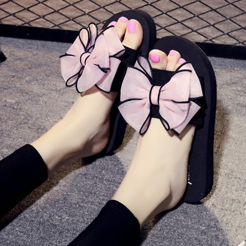 Summer Casual Outside Women Slippers 2018 Fashion Leisure Female Ladies Shoes Footwear Beach Flat Summer Women Shoes CLD924 2018 women summer slip on breathable flat shoes leisure female footwear fashion ladies canvas shoes women casual shoes hld919