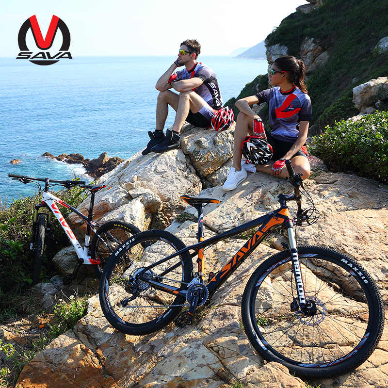 Сава горный велосипед mtb 27.5er углерода горного велосипеда bicicleta de Монтана карбоновый велосипед mtb с DEORE XT M8000 & MANITOU воздушная вилка