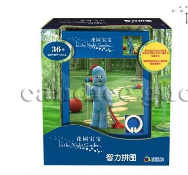 Игрушек! Совершенно новая пластиковая игрушка классная в ночном саду серия образовательные головоломки для детей игрушка подарок 1 шт - Цвет: style 3