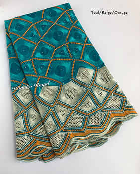 Soft cotton lace full embroidery African Swiss lace fabric Nigerian garment voile clothes high quality 5 yards per piece - DISCOUNT ITEM  15% OFF All Category