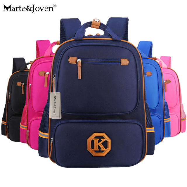 Marte Joven  New Arrival Best Waterproof School Bags for Children Backpack High  Quality Student School Schoolbag For Girls d1a883e2ae58
