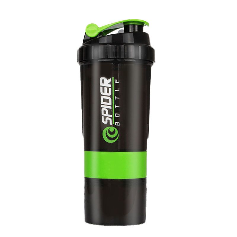 Creative High Quality Male and Female/Students /Three-layer Protein Powder Bottle Climbing Portable Shake Shake Cup Juice Cup