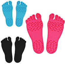 Beach Invisible Non-slip Foot Stickers Shoes Stick on Soles