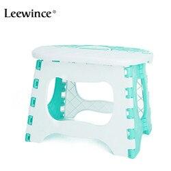 Leewince plegable de plástico baño taburete los niños al aire libre portátil Silla de Camping Picnic taburete de paso de carga 40 kg