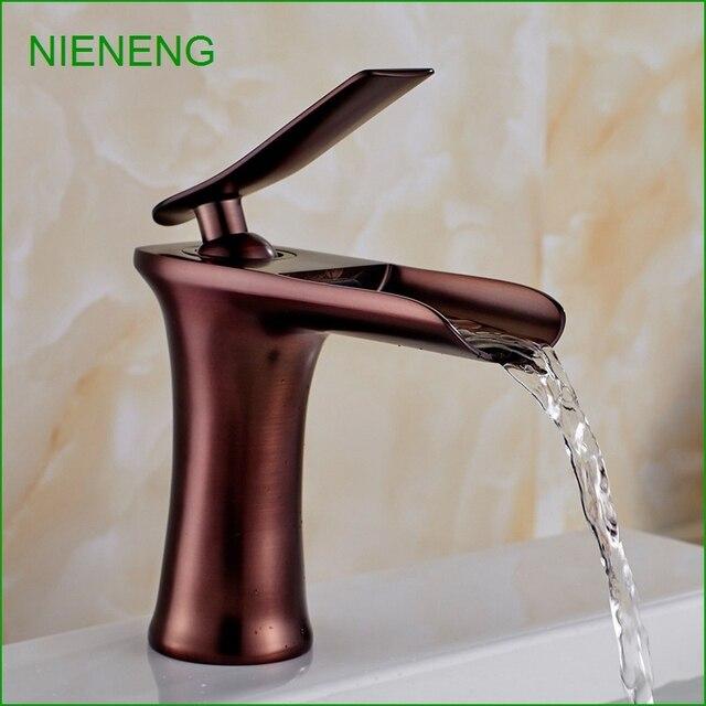 NIENENG bathroom sink faucet luxury design banheiro purple gold ...