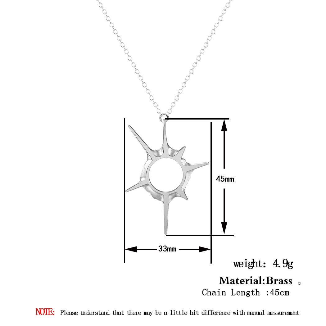 Cxwind 12 สไตล์แฟชั่นเครื่องประดับสตรีจี้สร้อยคอสุนัข Star Sun กวางสัตว์ยูนิคอร์นเรขาคณิต Charm Clavicle Chains COLLAR