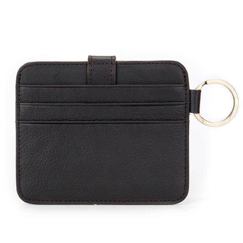 WESTAL genuínas dos homens carteira de couro bolsa da moeda da carteira pequena bolsa para homens fino curto masculino titular do cartão de crédito fina saco dos homens 9024