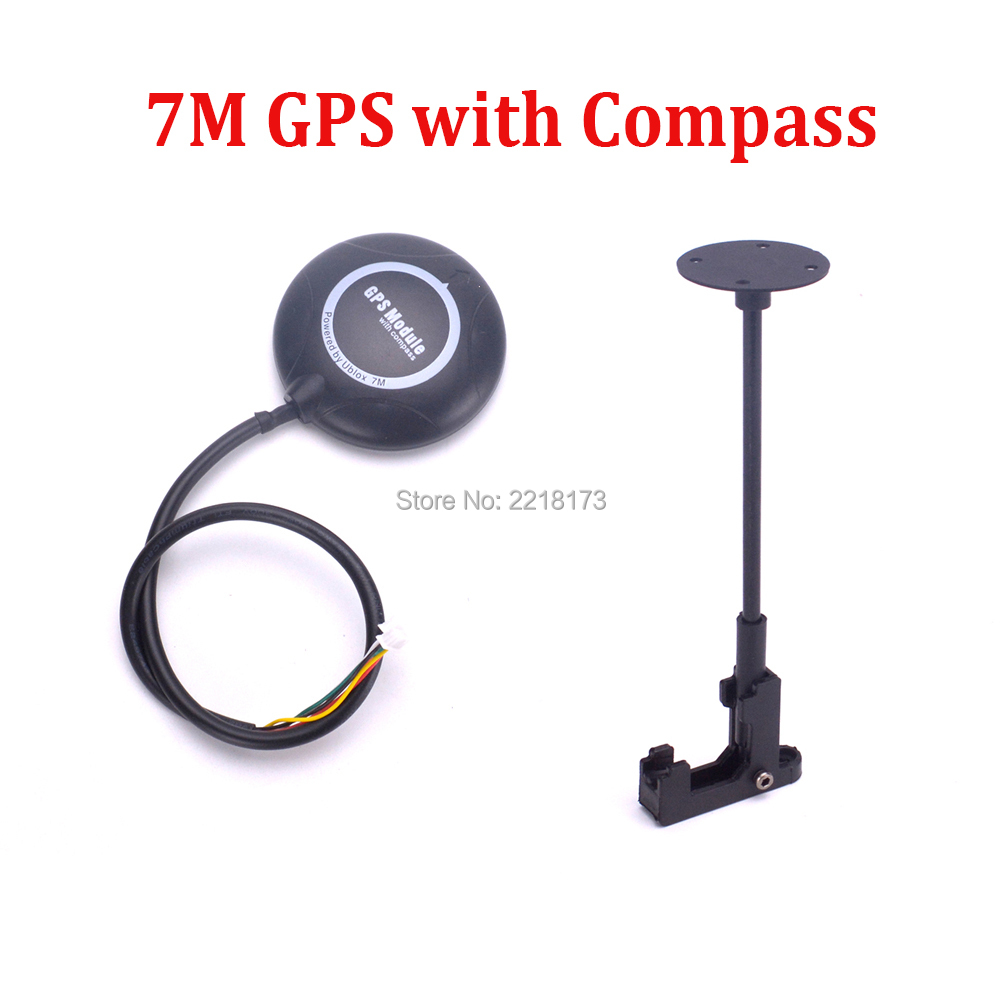 7M GPS With Compass + Foldable Stand Amount Holder Base For APM2.6 APM2.8 Pix PIXhawk 2.4.8