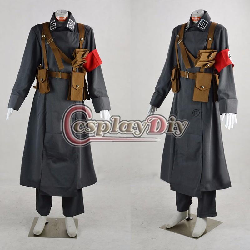 Hellsing Millenium Vampire soldado Cosplay traje para adultos ... 2fc1514bed2e