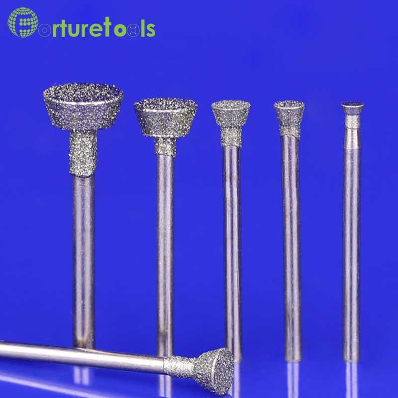 диамант монтирани точилна игла - Абразивни инструменти - Снимка 1