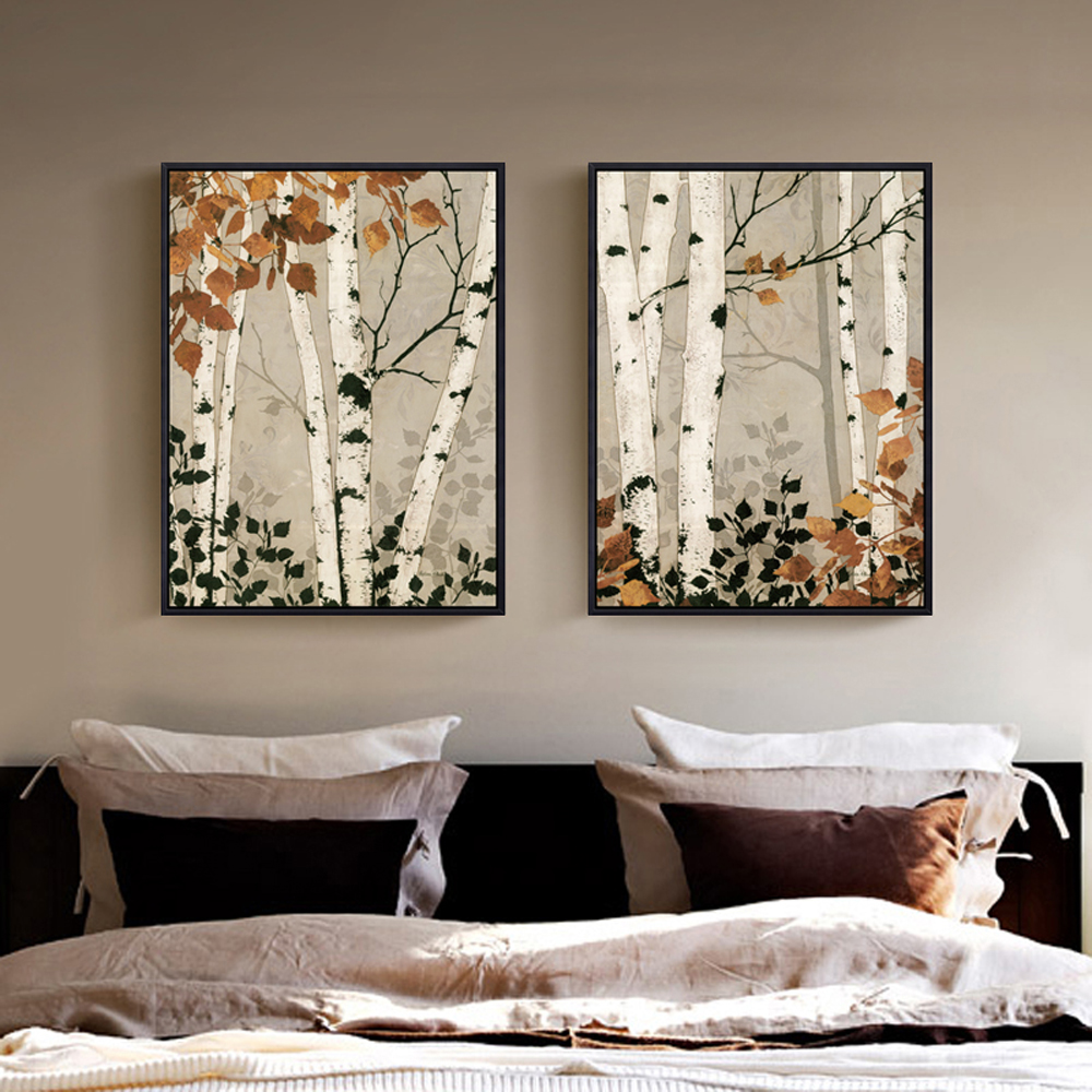Comparer les prix sur birch tree art online shopping for Tableau sur mur blanc