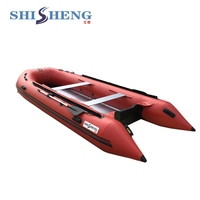 China factory custom inflatable new products cheap price floating fishing boat on sale