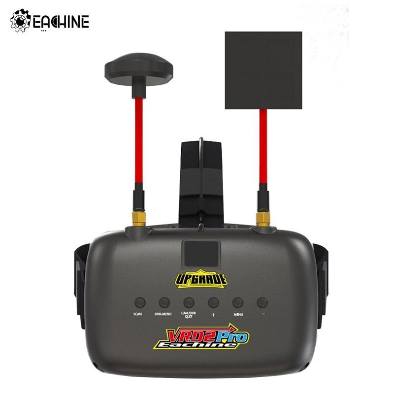 D'origine Eachine VR D2 Pro 5 Pouces 800*480 40CH 5.8G Diversité lunettes fpv w/DVR Lentille Réglable VS Eachine EV800D